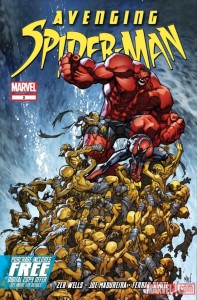 Avenging Spider-Man #2 Cover Art by Joe Madureira