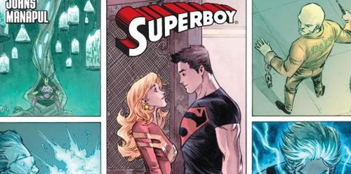 Adventure Comics Superboy by Francis Manapul