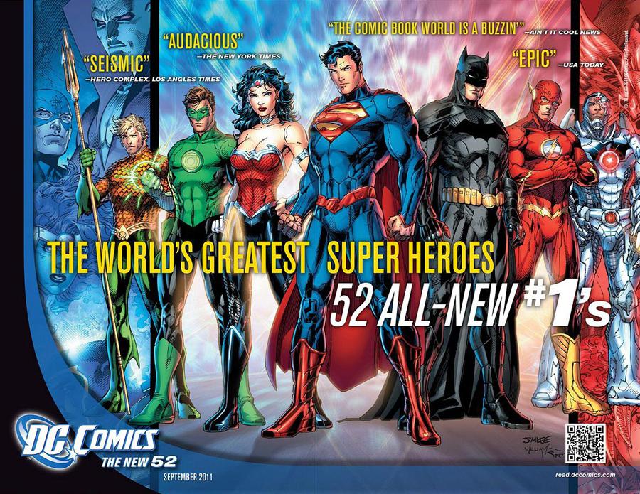 DCnU DC Comics New 52