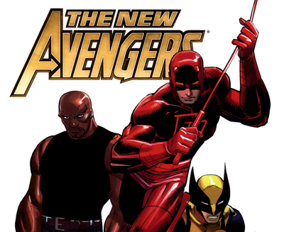 Daredevil with the New Avengers