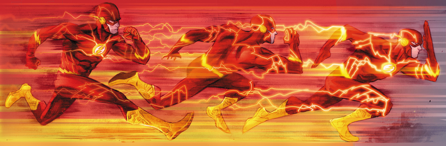 Flash Speed Force by Francis Manapul
