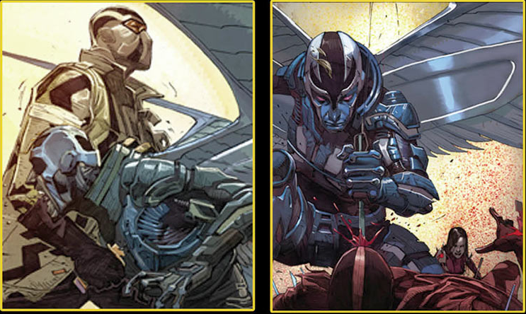 Uncanny X-Force Fantomex and Archangel