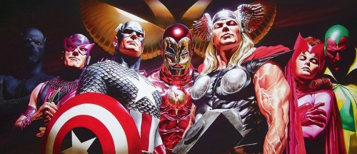 The Avengers by Alex Ross
