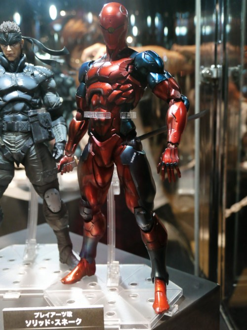 Play Arts Kai Metal Gear Solid Red Gray Fox Variant figure