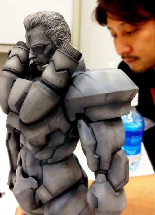 Play Arts Kai Metal Gear Solidus Snake