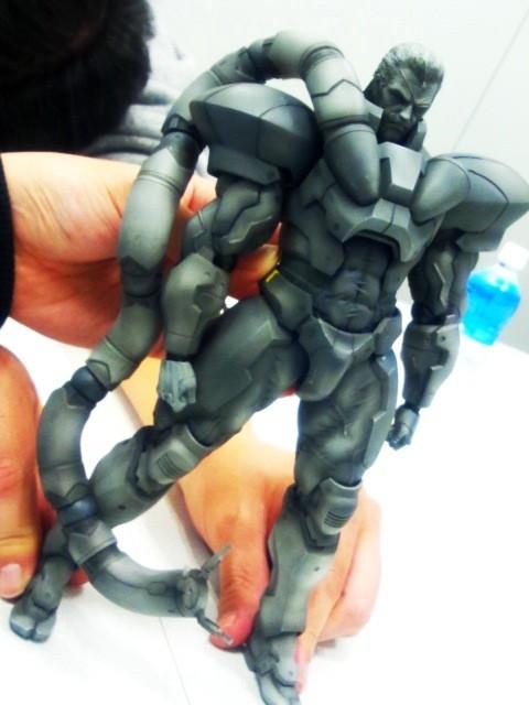 Play Arts Kai Metal Gear Solidus Snake body