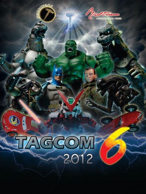 TAGCOM Toys Games and Comics Convention 2012