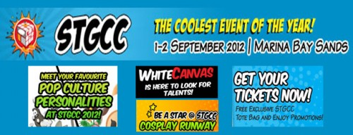 Singapore Toys, Games and Comics Convention 2012
